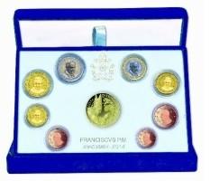 Vaticaan PROOF 2014 met Gouden 50 Euromunt