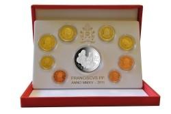 Vaticaan PROOF 2015 met Zilveren 20 Euromunt