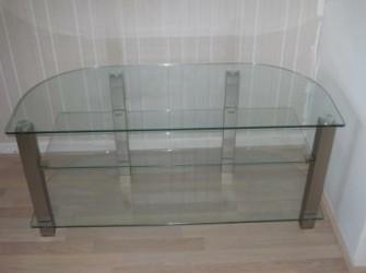 Glazen tv-meubel