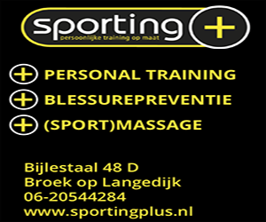 Sporting+ voor Personal Training