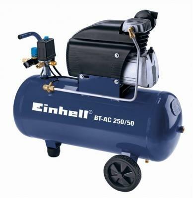 Einhell BT-AC 250-50/2,2 PK!!/50 Liter ketel!!