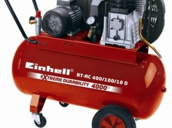 Introductieactie!!! einhell rt-ac 400/100-10/3 pk/100 liter…