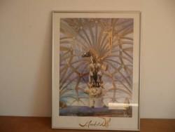 Schilderij (print) van Salvador Dali