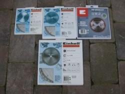 Einhell zaagblad/zaagbladen t.b.v. alle zaagmachines!!