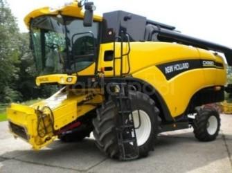 New Holland CX820 maaidorser ZEER MOOI!!!