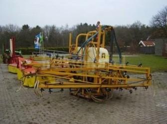 Dubex spuitmachine 21 m gedragen