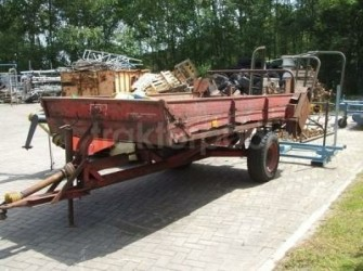 JF Meststrooier 3 ton