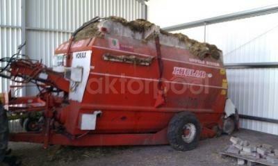 Luclar Nevada voermengwagen 9 m3
