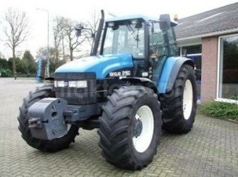 New Holland 8160 RC 4 WD trekker