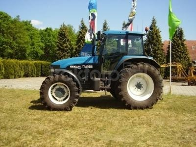 New Holland TM165 tractor