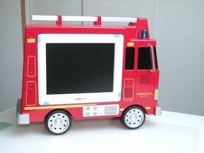 Brandweerauto LCD-TV