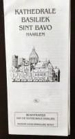Foldertje - Kathedrale Basiliek Sint Bavo - Haarlem