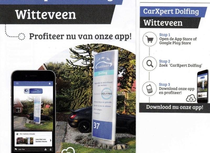CarXpert Dolfing heeft een eigen app