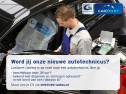 Gezocht: Allround monteur bij CarXpert Dolfing in Witteveen