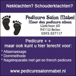 Pedicuresalon Mabel, uw pedicure in Midden-Drenthe