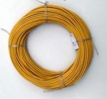 Montagedraad 1 x 2,5 mm2 geel