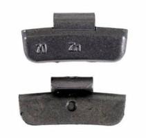 Balanceer slaglood aluminium velgen 20 Gr.