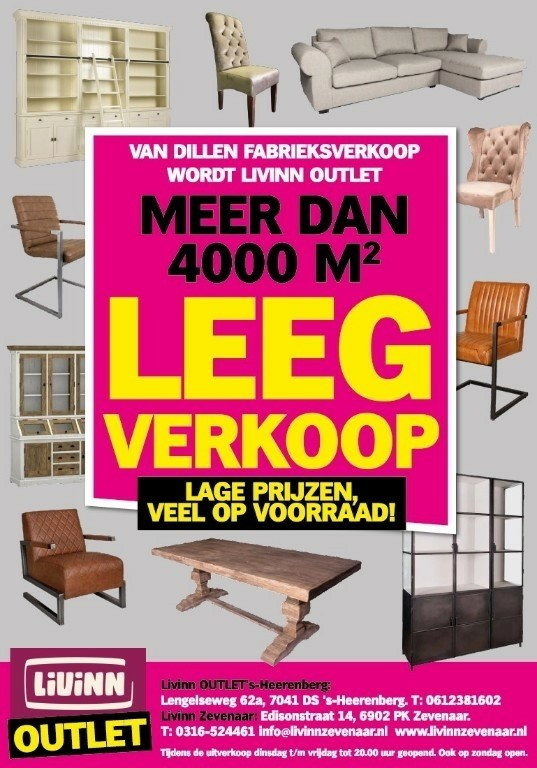 Bankstellen Uitverkoop Utrecht.Sale Bij Livinn Outlet Megakorting Op Bankstellen Oude