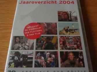 """De nieuwe originele DVD """"RTL Nieuws Jaaroverzicht 2004""""."""