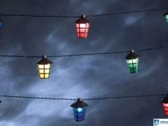 Konstsmide Gekleurde lamp