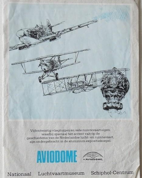 Boekje - Aviodome (20 Pag.) 1990