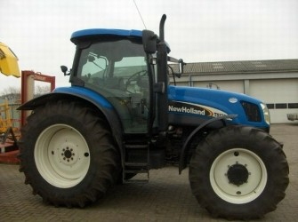 New Holland TS125A 4WD TRACTOR