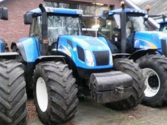 New Holland TVT170 4WD TRACTOR