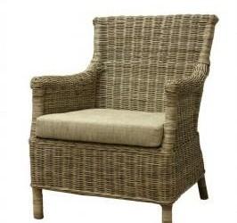 heerlijke rotan fauteuil