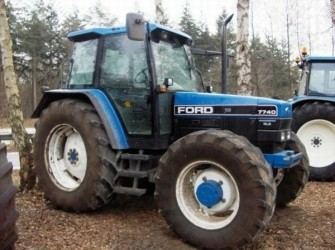 New Holland 7740SLE 4WD TRACTOR