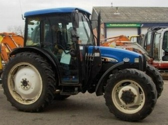 New Holland TN75 S 4WD TRACTOR