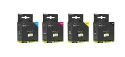 Geschikt Set Brother LC-3213 inkt cartridge zwart cyaan mag…