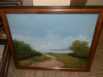 Schilderij, landschap