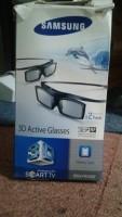 te koop 2:orinele actiefe 3d brillen van samsung