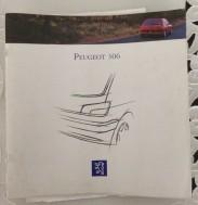 Folder/boekje - Peugeot 306 - 1993 - 29 pag.