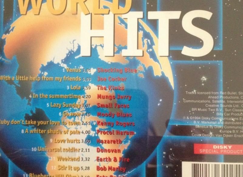 World Hits - 14 Original Artists