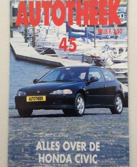 Autotheek nr. 45 - 1992