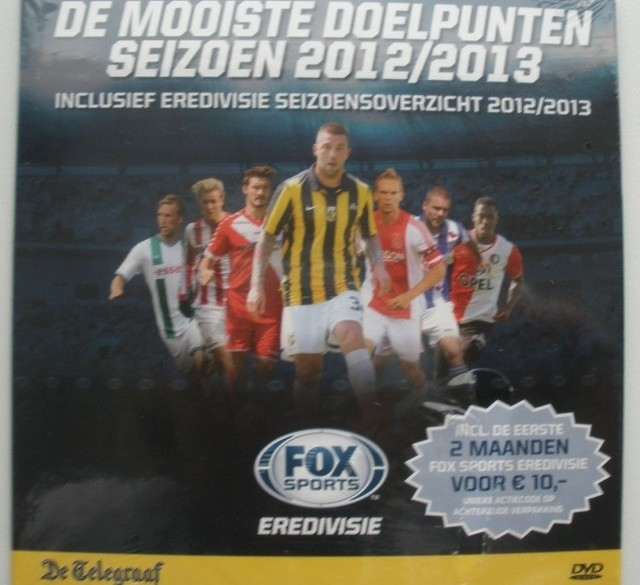 DVD - De mooiste doelpunten seizoen 2012/13