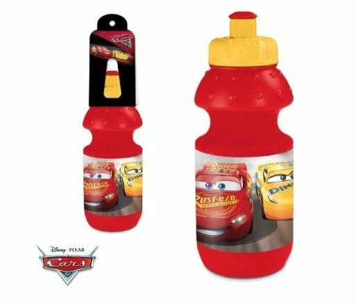 Cars drinkfles D6,5xH17,5 cm