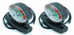 LED Set Breedte Lampen Ovaal