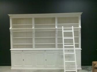 Bibliotheekkast White Wash