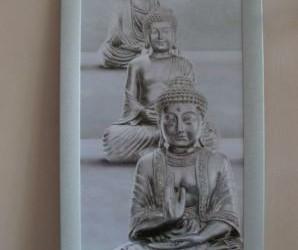 Wanddecoraties, Boeddha's, Bloemen, route 66, Dier