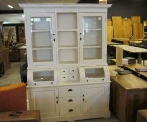 White Wash Grutterskast 150cm