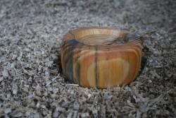 Kaarsenstandaard hout