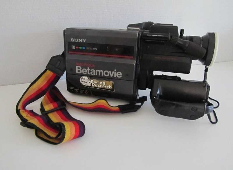 Sony Betamovie camera