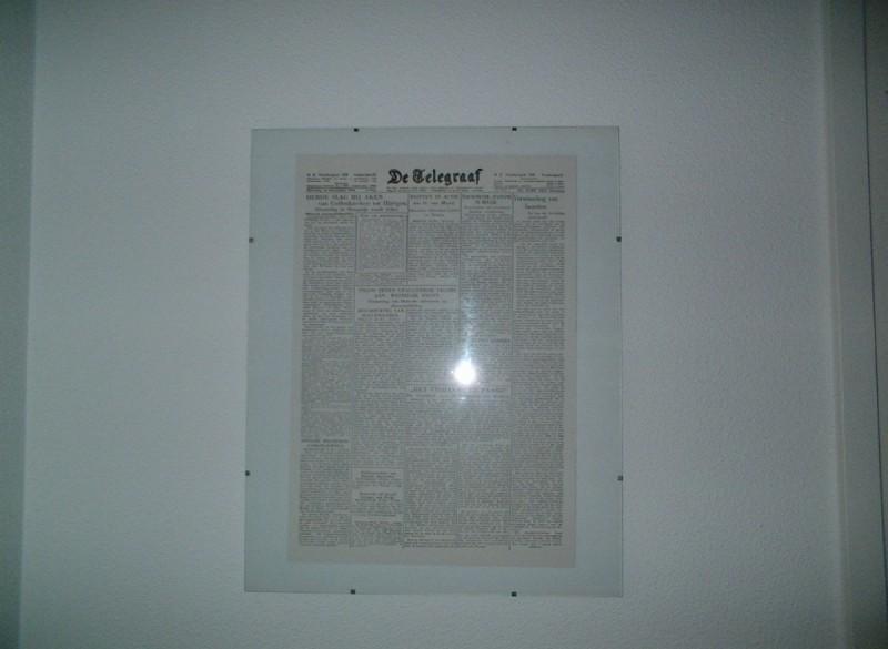 Voorpagina De Telegraaf 1944