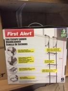 Reddingsladder First Alert 7.3 meter