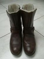 Laarzen bruin (leer) - maat 37
