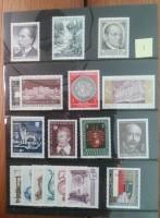 Postzegels Oostenrijk uit de periode 1970-1990, postfris