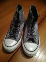 Converse All Stars High grijs-blauw denim, maat 37 (UK 4,5)