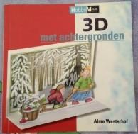 Boekje - Kaarten 3D met achtergronden